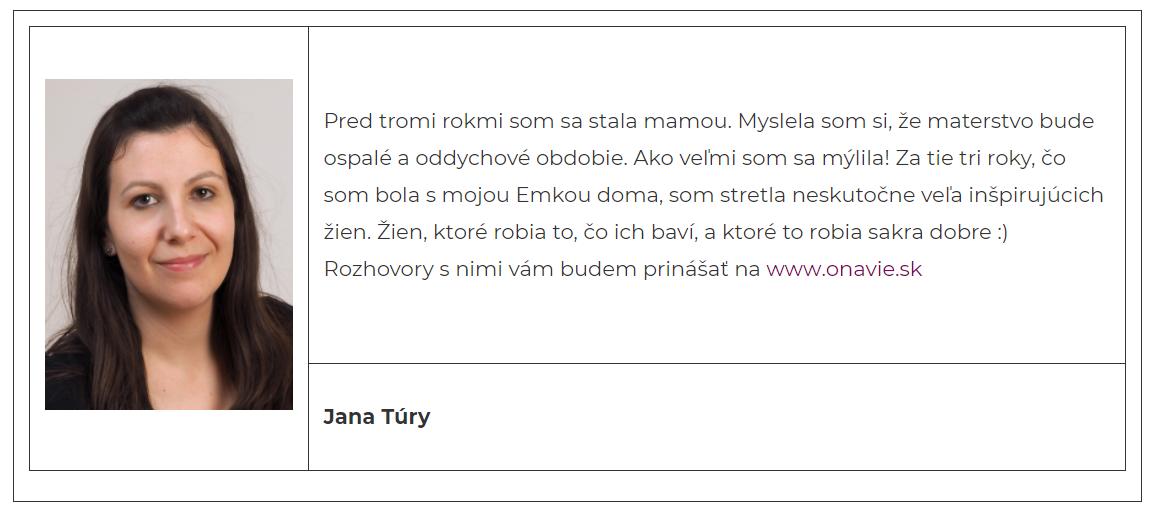 e4c3a059f4ed Tamara Cho  Je ťažké predstaviť si inú prácu ako v médiách. - onavie.sk